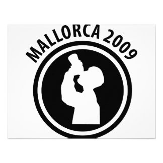 icono borracho 2009 de Mallorca Invitaciones Personalizada