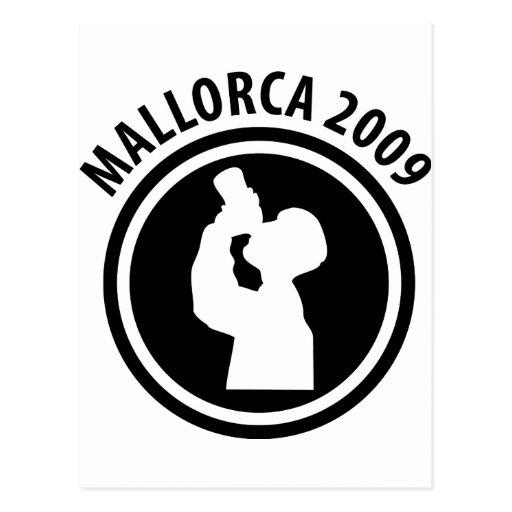 icono borracho 2009 de Mallorca Postales