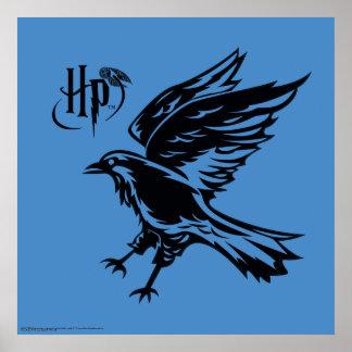 Icono de Harry Potter el | Ravenclaw Eagle Póster