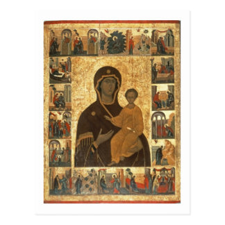 Icono de Hodegetria de la Virgen de Smolensk, Postal