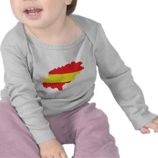 Icono de la bandera del contorno de Ibiza Camiseta