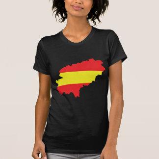 Icono de la bandera del contorno de Ibiza Camisetas
