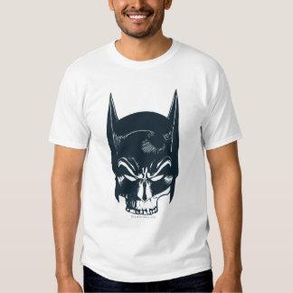 Icono de la capucha/del cráneo de Batman Camiseta