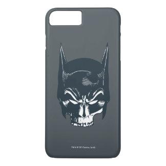 Icono de la capucha/del cráneo de Batman Funda iPhone 7 Plus