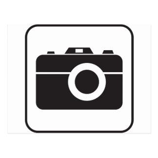 Icono de la fotografía postal