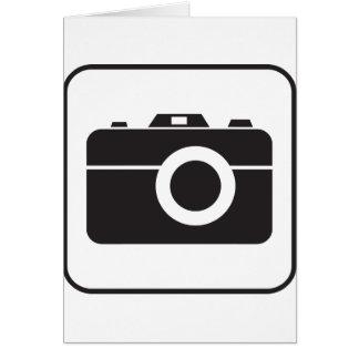 Icono de la fotografía tarjeta de felicitación
