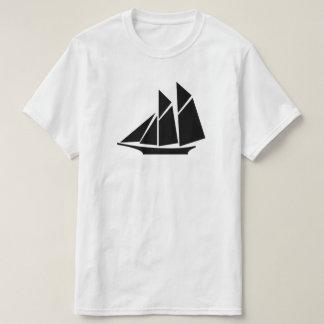 icono de la nave camiseta