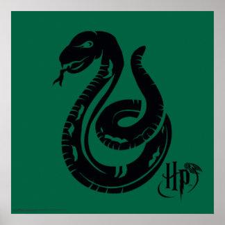 Icono de la serpiente de Harry Potter el   Póster