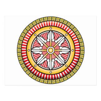 Icono de las karmas postal