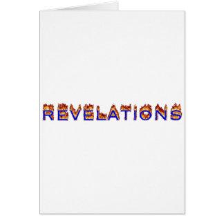 Icono de las revelaciones (fuego) felicitaciones