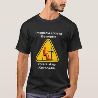 Icono de PEBCAK - oscuridad Camiseta