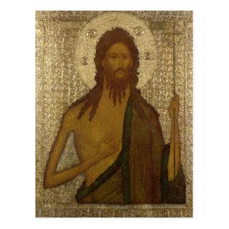 Icono de St. John el precursor Postal