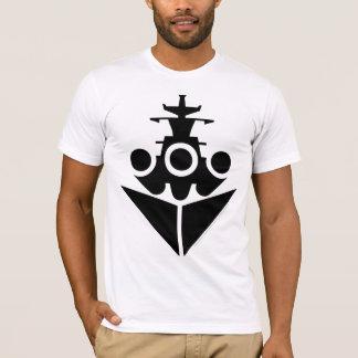Icono del acorazado camiseta