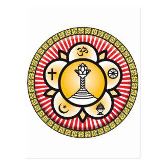 Icono del bizcocho borracho de Sai Tarjeta Postal