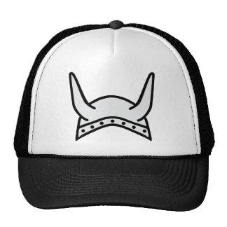 icono del casco de vikingo gorra