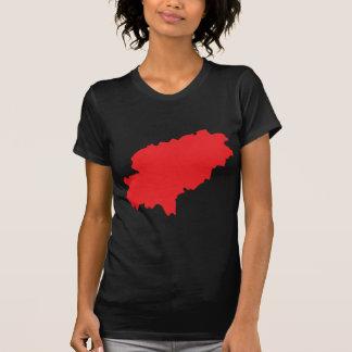Icono del countur de Ibiza Camiseta