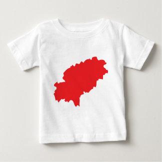 Icono del countur de Ibiza Camiseta De Bebé