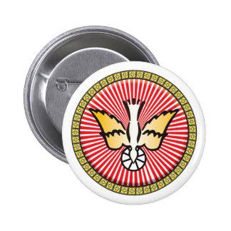 Icono del cristianismo pin