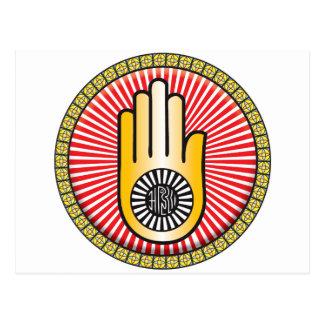 Icono del jainismo postales