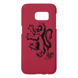 Icono del león de Harry Potter el | Gryffindor Funda Samsung Galaxy S7