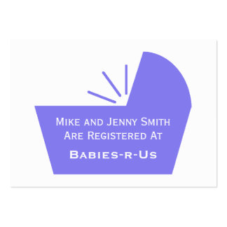 Icono del pesebre del bebé tarjeta personal