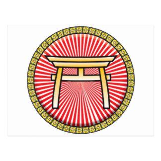 Icono del Shintoism Postal