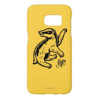 Icono del tejón de Harry Potter el | Hufflepuff Funda Samsung Galaxy S7