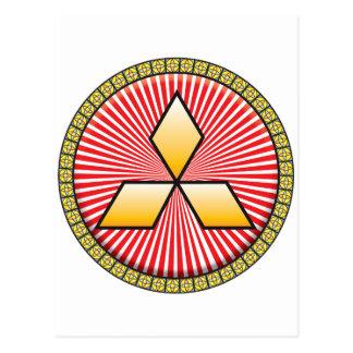Icono del tríceps tarjeta postal