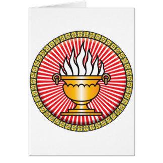 Icono del Zoroastrianism Felicitación