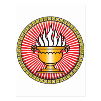 Icono del Zoroastrianism Postal