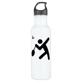 Icono fresco del deporte del BÁDMINTON el | Botella De Agua