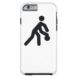Icono fresco del deporte del BALONCESTO el | Funda Resistente iPhone 6