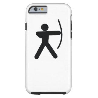 Icono fresco del deporte del TIRO AL ARCO el | Funda Resistente iPhone 6