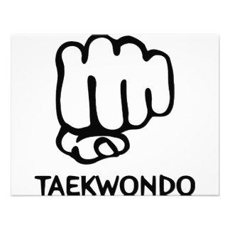 icono negro del Taekwondo Anuncio Personalizado