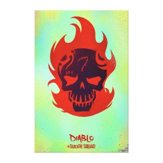 Icono principal del pelotón el | Diablo del Lona Envuelta Para Galerías