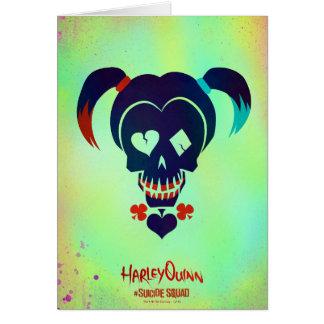 Icono principal del pelotón el | Harley Quinn del Tarjeta De Felicitación