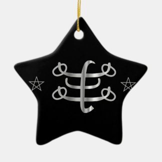 Icono religioso de Bahai del símbolo de Ringstone Adorno De Cerámica En Forma De Estrella