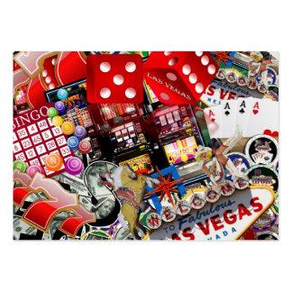 Iconos de Las Vegas - placer de los jugadores Tarjetas De Visita