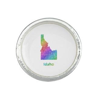 Idaho Anillo Con Foto