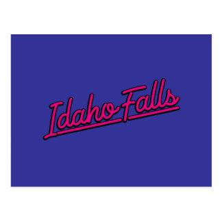 Idaho cae en magenta postal