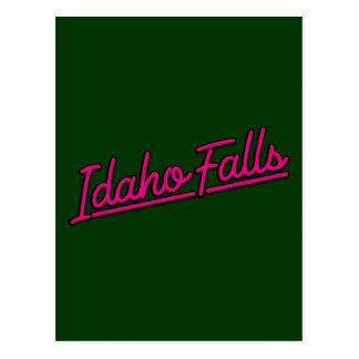 Idaho cae en magenta tarjetas postales