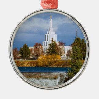 Idaho cae templo adornos