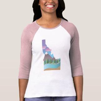 Idaho ilustró la camisa