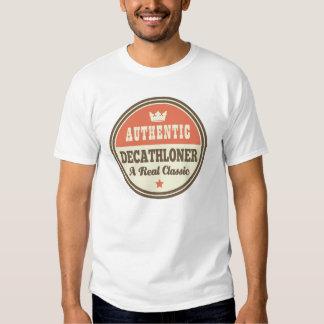 Idea auténtica del regalo del vintage de camiseta