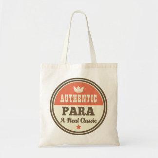 Idea auténtica del regalo del vintage de Para Bolsa Tela Barata
