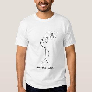 Idea brillante camisetas