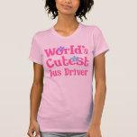 Idea del regalo del conductor del autobús para ell camiseta