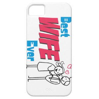 Idea del regalo: La mejor esposa iPhone 5 Cárcasas