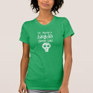 Idea nupcial mún V015 ido novia del regalo de la Camiseta