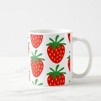 Idea roja del regalo de la taza de café del modelo